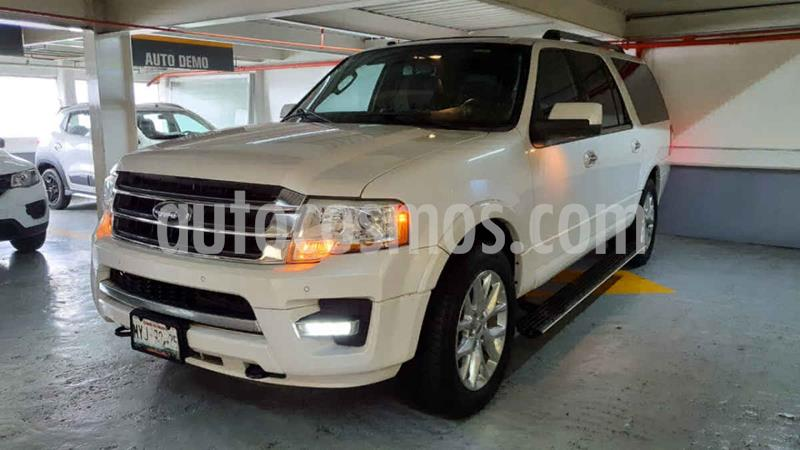 Ford Expedition Limited Max 4x2 usado (2016) color Blanco precio $469,000