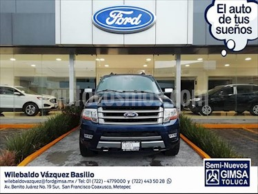 Foto Ford Expedition Platinum 4x4 usado (2017) color Azul Marino precio $570,000