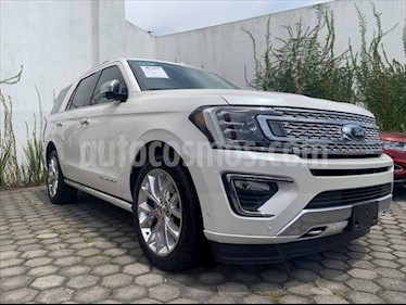 Ford Expedition PLATINUM 4X4 3.5L GTDI usado (2018) color Blanco precio $899,999