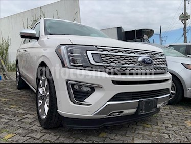 Ford Expedition PLATINUM 4X4 3.5L GTDI usado (2018) color Blanco precio $949,999