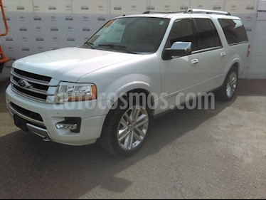 Ford Expedition Platinum 4x4 MAX usado (2017) color Blanco precio $550,000