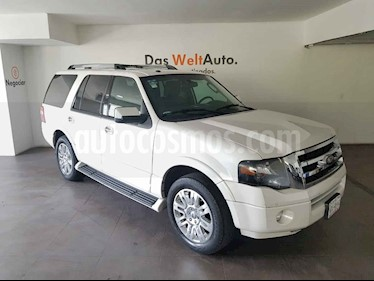 Ford Expedition 5p Limited V8/5.4 Aut usado (2014) color Blanco precio $300,000
