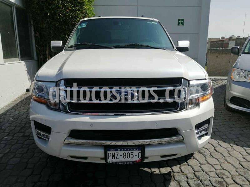 Ford Expedition Limited 4x2 MAX usado (2017) color Blanco precio $490,000