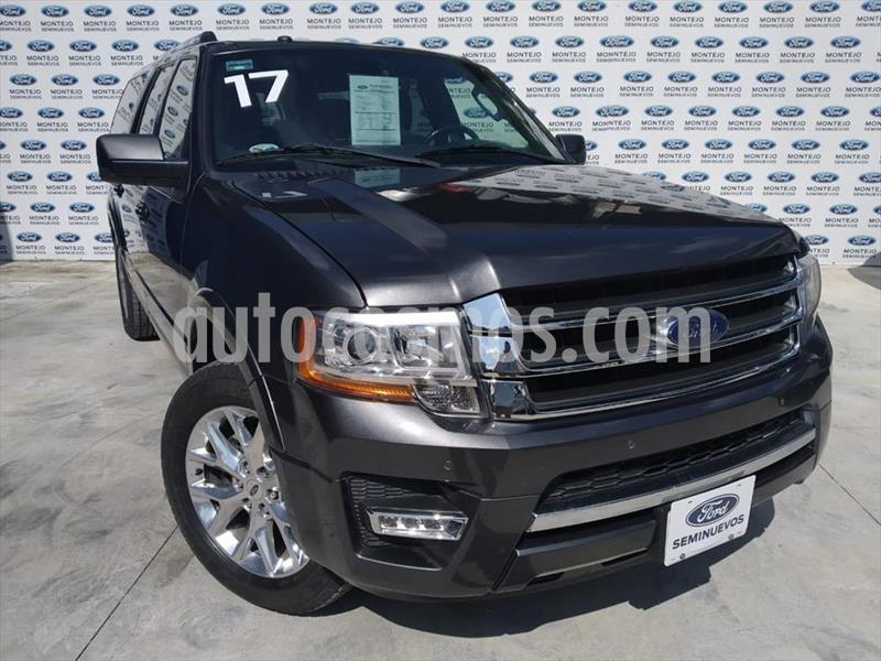 Ford Expedition XL MAX 4X2 usado (2017) color Gris precio $475,000