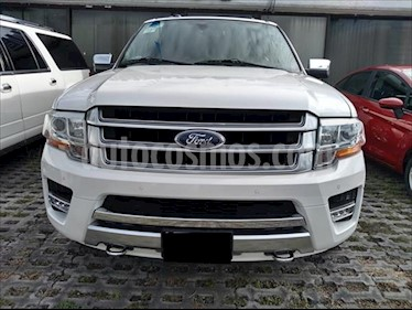 Ford Expedition Platinum 4x4 usado (2017) color Blanco precio $520,000