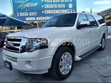 Ford Expedition Limited 4x2 MAX usado (2014) color Blanco precio $339,900