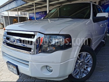 Ford Expedition Limited 4x2 usado (2014) color Blanco Platinado precio $339,000