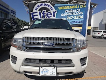 Ford Expedition Limited 4x2 MAX usado (2016) color Blanco precio $490,000