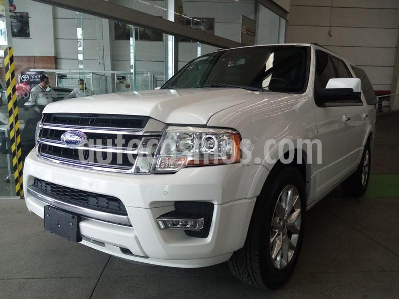 Ford Expedition Limited 4x2 usado (2019) color Blanco precio $440,000