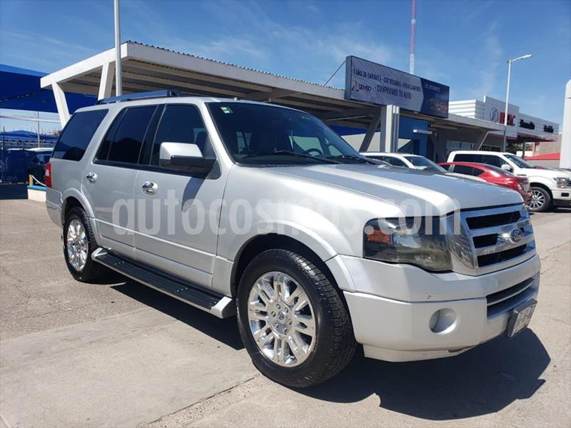 Ford Expedition Limited 4x2 usado (2013) color Plata precio $220,000