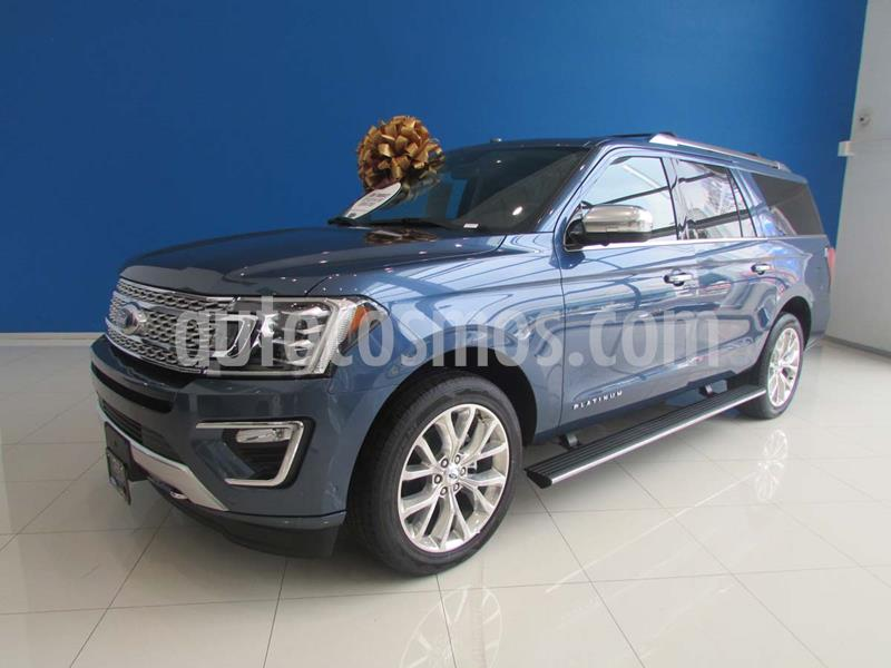 Ford Expedition Platinum Max 4x4 usado (2019) color Azul precio $1,200,000