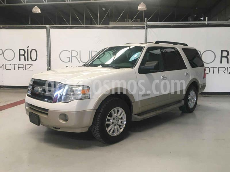 Ford Expedition Eddie Bauer 4x2 usado (2008) color Blanco precio $185,000
