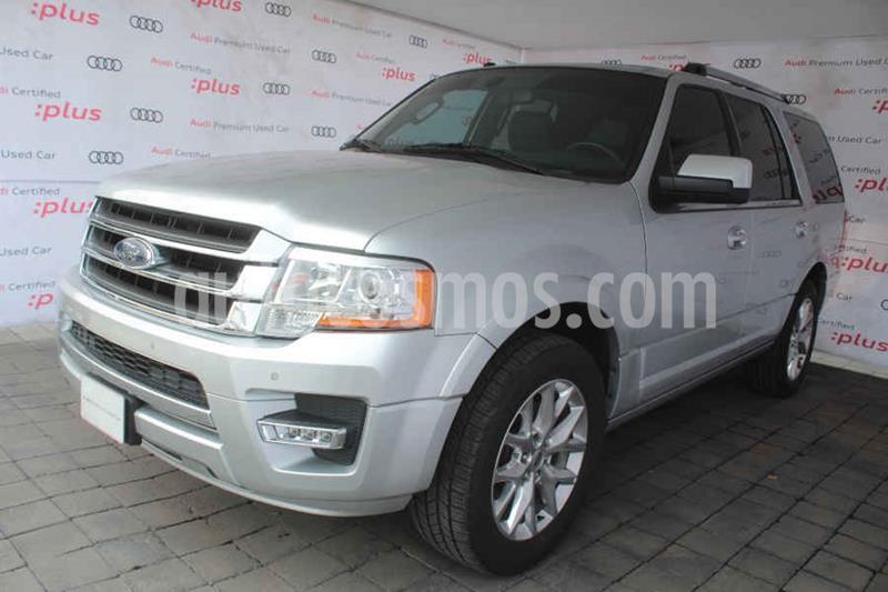 Ford Expedition Limited 4x2 usado (2017) color Plata precio $505,000