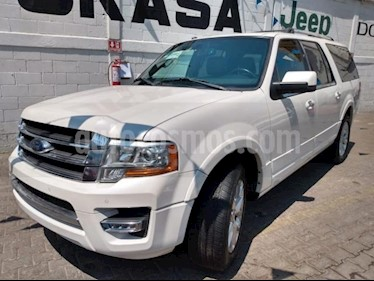 Ford Expedition 5P MAX LIMITED 3.5L TA PIEL QC DVD GPS RA-20 usado (2017) color Blanco precio $570,000