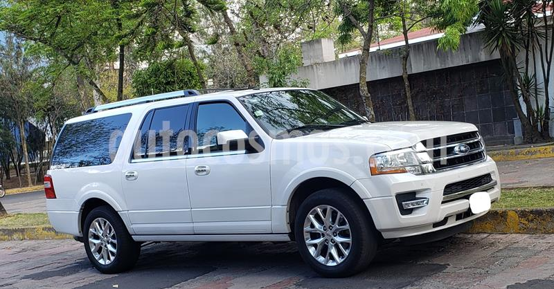 Ford Expedition Limited 4x2 MAX usado (2015) color Blanco precio $435,000