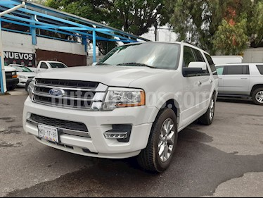 Ford Expedition Limited 4x2 usado (2016) color Blanco Platinado precio $435,000