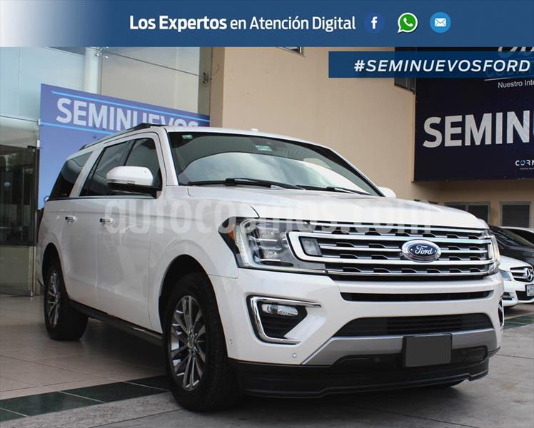 Ford Expedition Limited Max 4x2 usado (2018) color Blanco precio $865,000