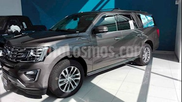 Ford Expedition 5p XL Max V6/3.5/BT Aut usado (2018) color Gris precio $1,065,000