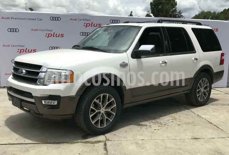 Ford Expedition King Ranch 4x2 usado (2016) color Blanco precio $405,000