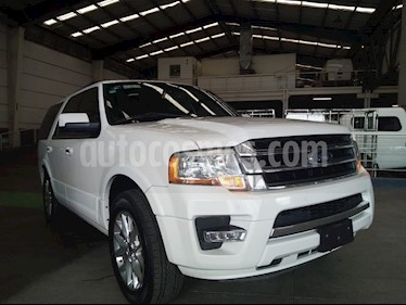 Ford Expedition Limited 4x2 usado (2016) color Blanco precio $479,000