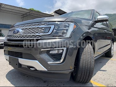 Ford Expedition PALTINUM MAX 4X4 usado (2019) color Azul Marino precio $1,299,999