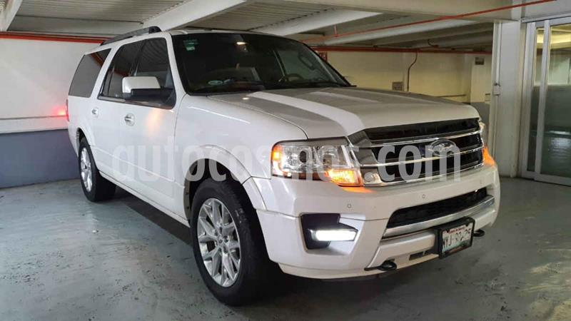 Ford Expedition Limited 4x4 MAX usado (2016) color Blanco precio $469,000