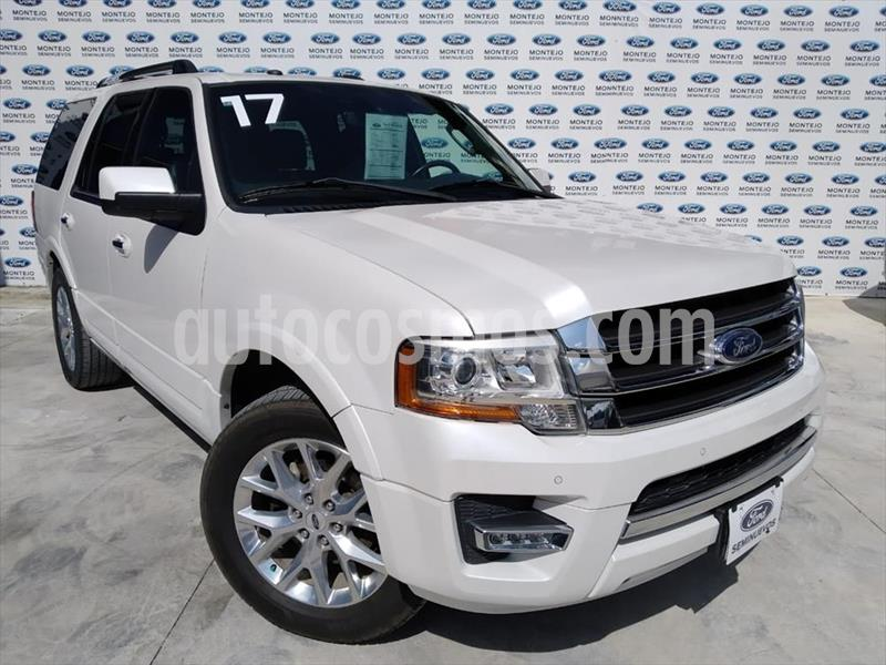 Ford Expedition Limited 4x2 usado (2017) color Blanco precio $470,000