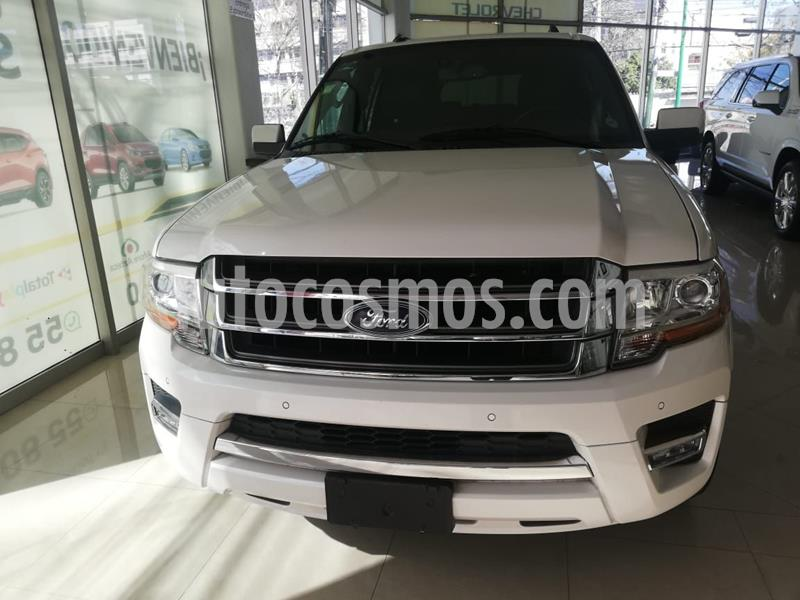 Ford Expedition Limited 4x2 MAX usado (2015) color Blanco precio $389,000