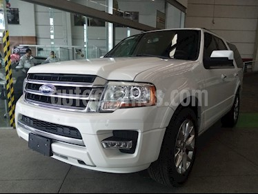 Ford Expedition Limited 4x2 usado (2016) color Blanco precio $449,000