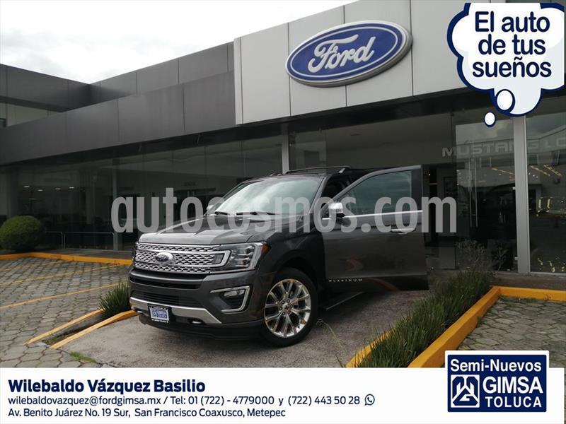 Ford Expedition PALTINUM MAX 4X4 usado (2019) color Gris Oscuro precio $1,350,000