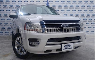 Ford Expedition Limited 4x2 MAX usado (2017) color Blanco precio $415,000