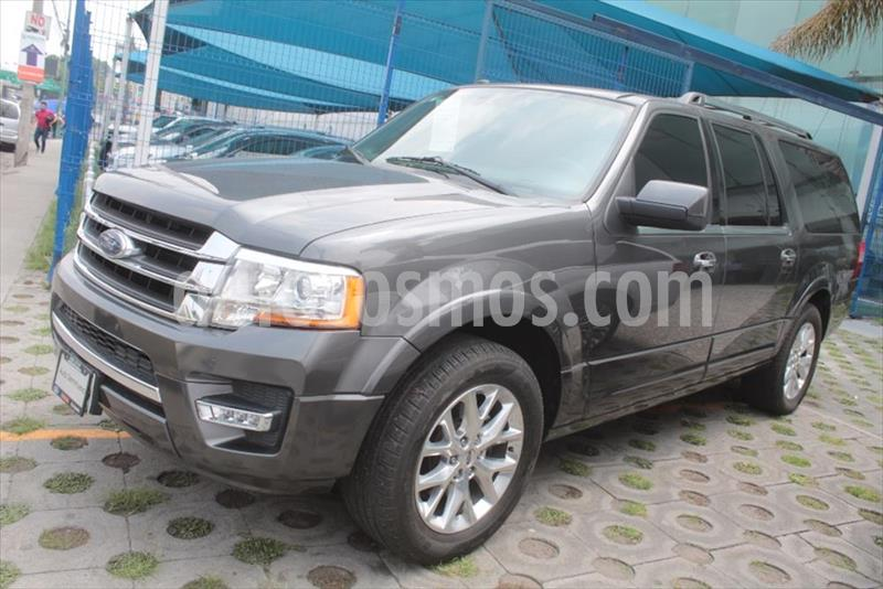 Ford Expedition Limited 4x2 MAX usado (2017) color Gris Oscuro precio $575,000