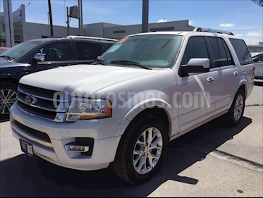 Ford Expedition Limited 4x2 usado (2016) color Plata precio $399,000