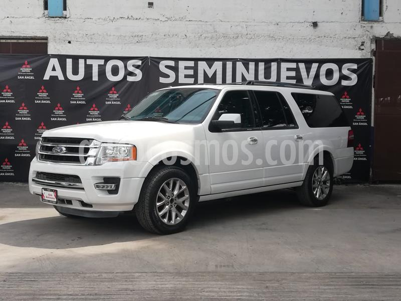 Ford Expedition Limited 4x2 MAX usado (2017) color Blanco Oxford precio $440,000