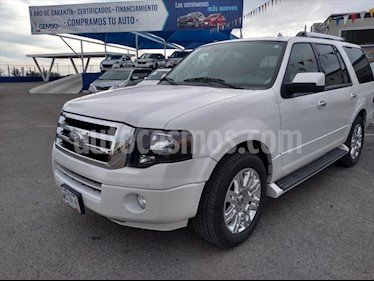 Ford Expedition Limited 4x2 usado (2013) color Blanco precio $220,000