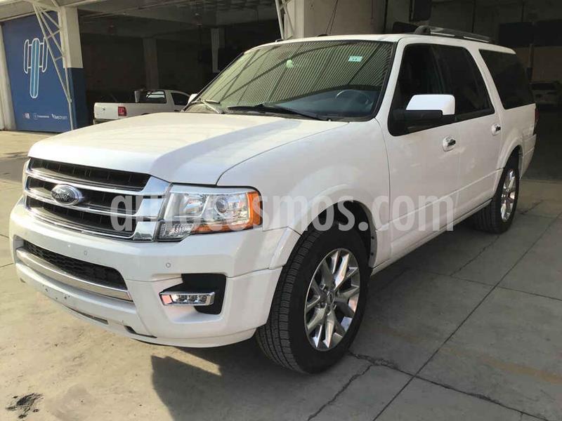 Ford Expedition Limited 4x2 MAX usado (2015) color Blanco precio $245,000