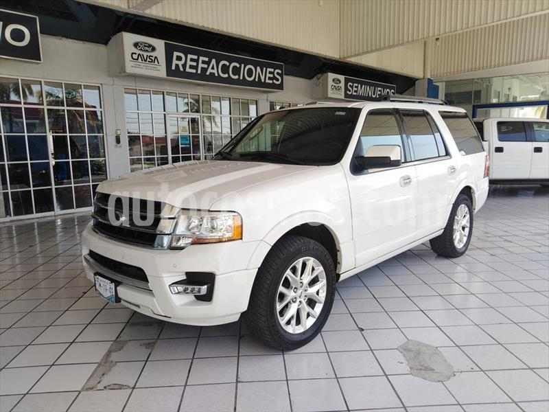 Foto Ford Expedition Limited 4x2 usado (2016) color Blanco precio $465,000