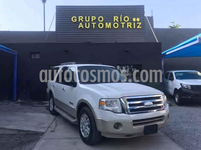 Ford Expedition Eddie Bauer 4x2 usado (2008) color Crema precio $185,000