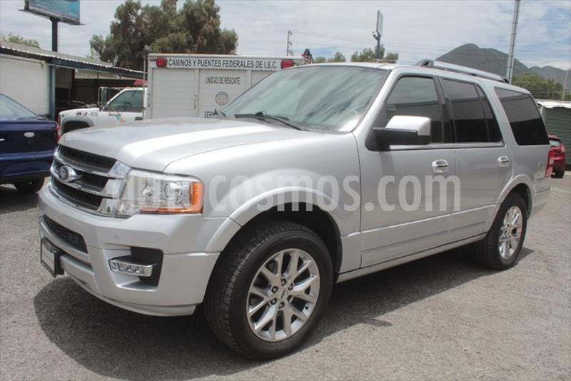 Ford Expedition Limited 4x2 usado (2017) color Plata precio $499,900