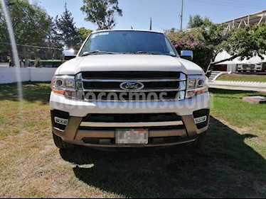 Ford Expedition King Ranch 4x2 usado (2016) color Cafe precio $415,010