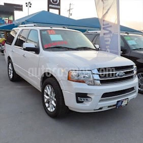 Ford Expedition Limited 4x2 usado (2015) color Blanco precio $370,000