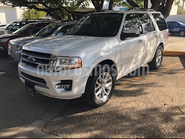 Ford Expedition Limited 4x2 usado (2017) color Blanco precio $590,000