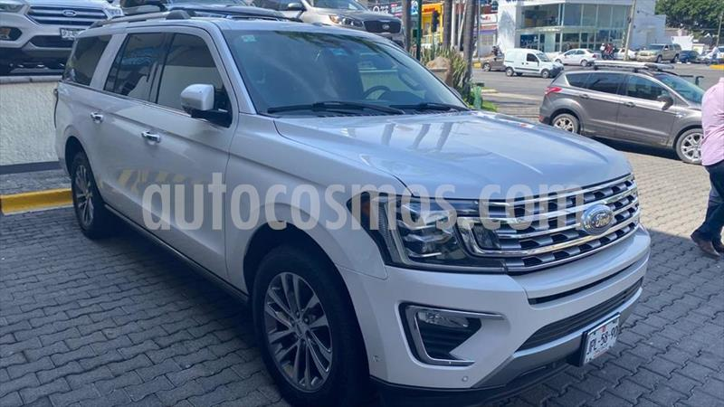 Ford Expedition LIMITED MAX 4X2 3.5L GTDI usado (2018) color Blanco precio $869,000