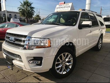 Ford Expedition Limited 4x2 usado (2017) color Blanco precio $569,000