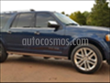 Ford Expedition Platinum 4x4 MAX usado (2017) color Azul Marino precio $650,000