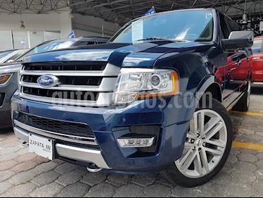 Foto venta Auto usado Ford Expedition Platinum 4x4 (2017) color Azul precio $659,000