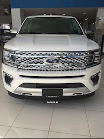 Ford Expedition Platinum 4x4 nuevo color Blanco Platinado precio $1,373,100