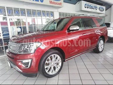 Foto venta Auto Seminuevo Ford Expedition PLATINUM 4X4 (2018) color Rojo precio $1,150,000