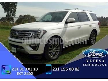 Foto venta Auto usado Ford Expedition PLATINUM MAX 4X4 3.5L GTDI (2017) color Blanco Platinado precio $680,000