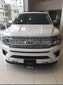 Ford Expedition Platinum Max 4x4 nuevo color Blanco Platinado precio $1,424,400